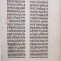 Bible. Old Testament Jeremiah XII-XIV, 1-19. Latin. Vulgate. 1455.