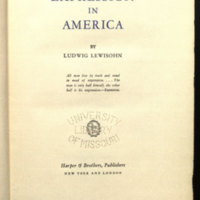 Expression in America / by Ludwig Lewisohn