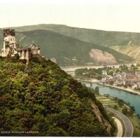 Lahneck Castle, the Rhine, Germany