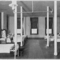 Male Ward at Parker Memorial Hospital.