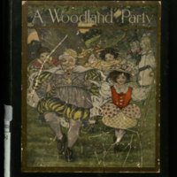 A woodland party / by Harriet Eunice Hawley ; with illustrations by Loretta Low.