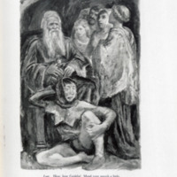 King Lear : the text of the First Folio, with Quarto insertions / edited and amended where obscure by Herbert Farjeon ; illustrated from drawings by Boardman Robinson.