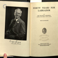 Forty years for Labrador / by Sir Wilfred Grenfell.