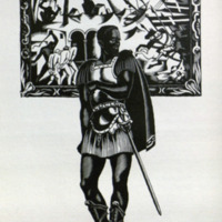 Othello : the text of the First Folio, with Quarto insertions / edited and amended where obscure by Herbert Farjeon ; illustrated with wood engravings by Robert Gibbings.<br />