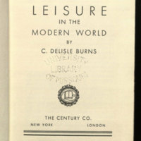 Leisure in the modern world
