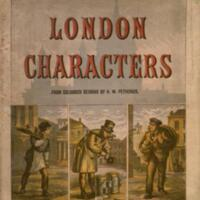 London characters / from coloured designs by H.W. Petherick.