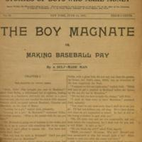 The boy magnate, or, Making baseball pay