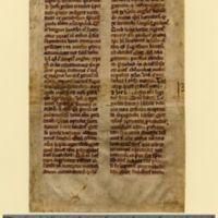 Sermon (on saints?)