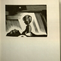 Southern cross ; a novel of the South Seas told in wood engravings / by Laurence Hyde, with a review of stories in pictures from earliest times. Introd. by Rockwell Kent.<br />