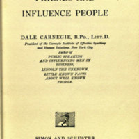How to win friends and influence people / [by] Dale Carnegie.<br />