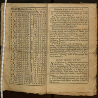 Poor Richard, 1747: An Almanack for the Year of Christ 1747.