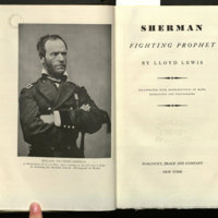 Sherman : fighting prophet / by Lloyd Lewis.