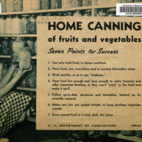 Home Canning of Fruits and Vegetables - Seven Points For Success.