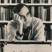 Photograph of Lanford Wilson.