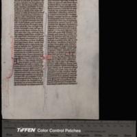 Bible. Chronicles, 2nd. Latin. Vulgate. 1270.<br />