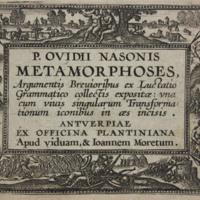 P. Ovidii Nasonis Metamorphoses : argumentis brevioribus