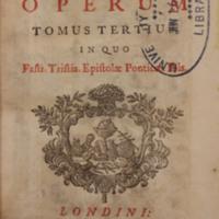 Opera, tribus tomis comprehensa