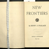 New frontiers.