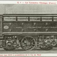Prototyp Compagnie du chemin de fer du Nord, NORD ellok.
