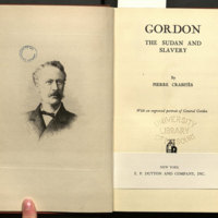 Gordon : the Sudan and slavery