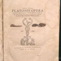 Omnia divini Platonis opera / Tralatione Marsilii Ficini, emendatione et ad graecvm codicem collatione Simonis Grynaei nunc recens summa diligentia repurgata