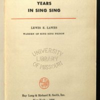 Twenty thousand years in Sing Sing.