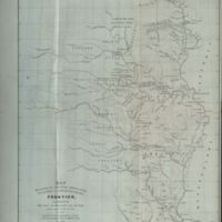 Map Illustrating the Plan of the Defences of the Western and North Western Frontier, as Proposed by the Hon. J. R. Poinsett Sec. of War, in his report of Dec. 30, 1837.