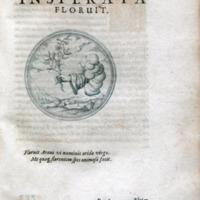 Symbolorum et emblematum centuriae tres : I. Ex herbis & stirpibus. II. Ex animalibus quadrupedibus. III. Ex volatilibus & insectis.