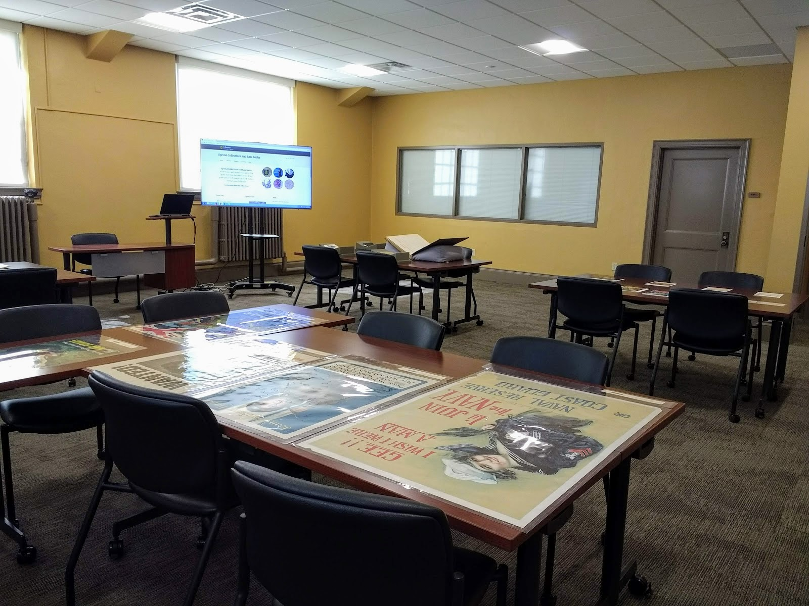 Special Collections classroom