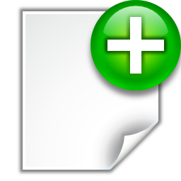 Actions-document-new-icon