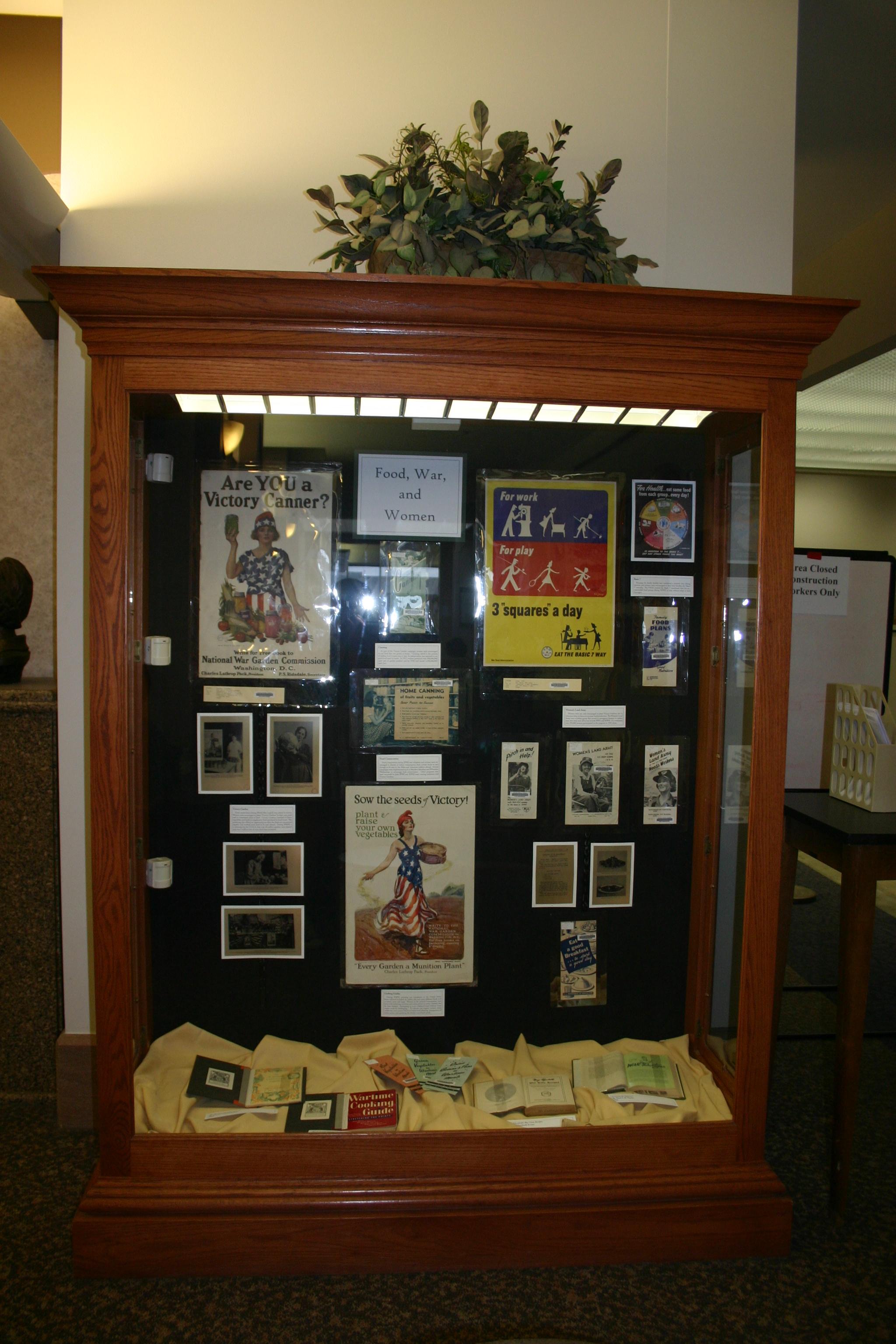 ellis library display cases      libraries      mizzou